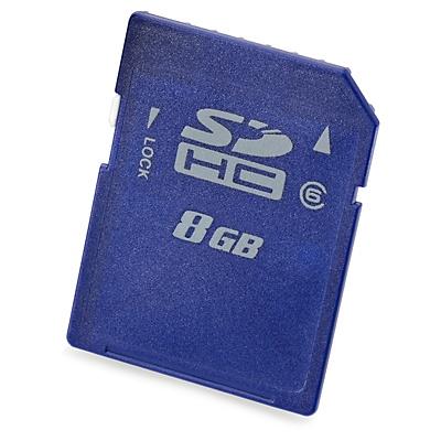 Memoria Flash HP, 8GB SDHC Enterprise Mainstream Clase 6, Azul