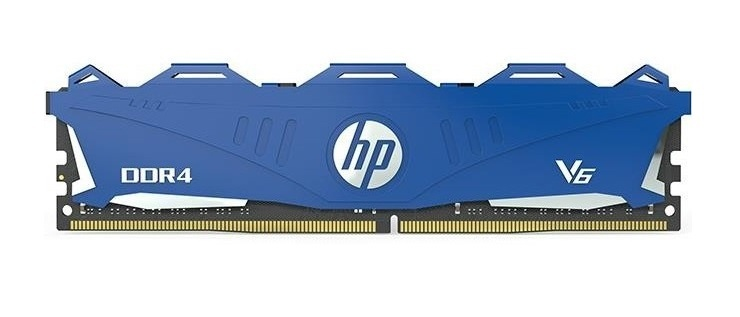 Memoria RAM HP V6 Azul DDR4, 3000MHz, 8GB, Non-ECC, CL16
