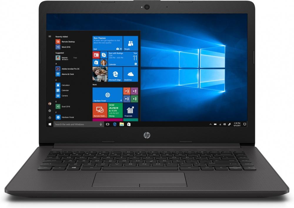 "Laptop HP 245 G7 14"" HD, AMD Ryzen 2300U 2GHz, 8GB, 1TB, Windows 10 Home 64-bit, Negro"