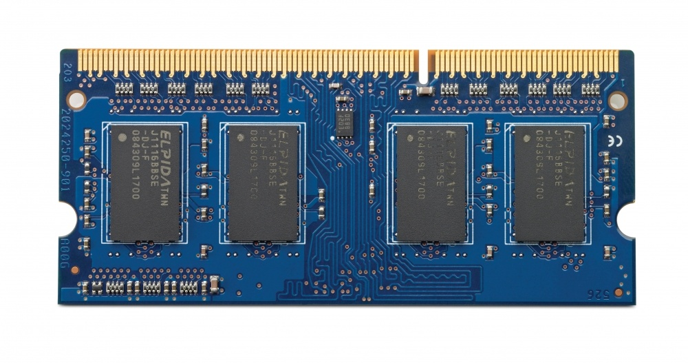 Memoria RAM HP DDR3, 1600MHz, 4GB, SO-DIMM