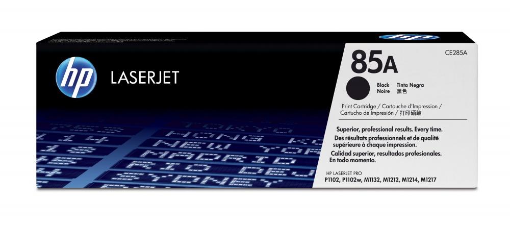 Tóner HP 85A Negro, 1600 Páginas