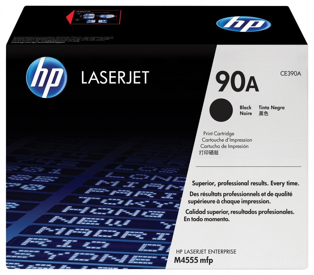Tóner HP 90A Negro, 10.000 Páginas ― ¡Compra y recibe $170 pesos de saldo para tu siguiente pedido!