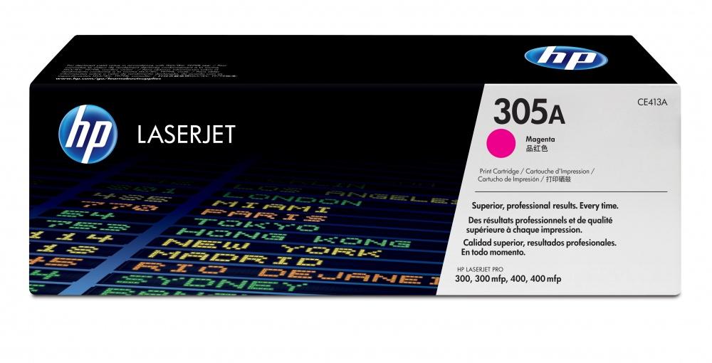 Tóner HP 305A Magenta, 2600 Páginas ― ¡Compra y recibe $120 pesos de saldo para tu siguiente pedido!