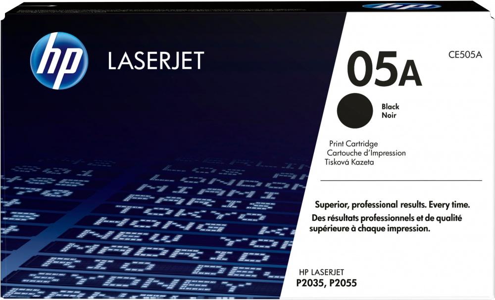 Toner HP 05A Negro, 2300 Páginas ― ¡Compra y recibe $85 pesos de saldo para tu siguiente pedido!