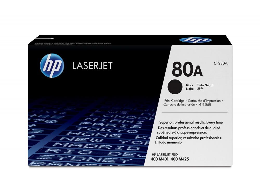 Tóner HP 80A Negro, 2700 Páginas ― ¡Compra y recibe $105 pesos de saldo para tu siguiente pedido!