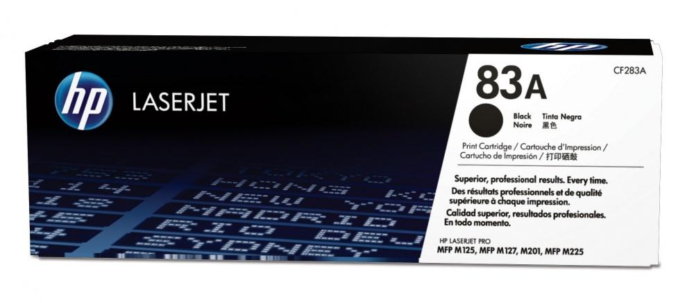 Tóner HP 83A Negro, 1500 Páginas ― ¡Compra y reciba $80 pesos de saldo para su siguiente pedido!