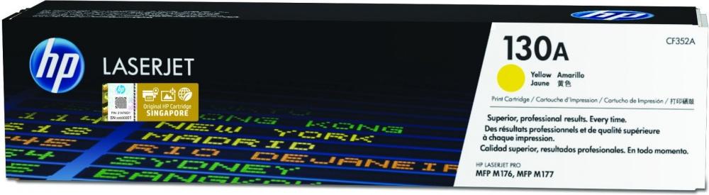 Tóner HP 130A Amarillo, 1000 Páginas ― ¡Compra y recibe $60 pesos de saldo para tu siguiente pedido!