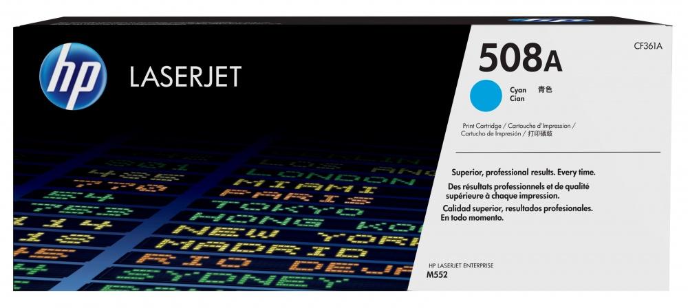 Tóner HP 508A Cyan, 5000 Páginas ― ¡Compra y recibe 5% del valor de este producto en saldo para tu siguiente pedido!