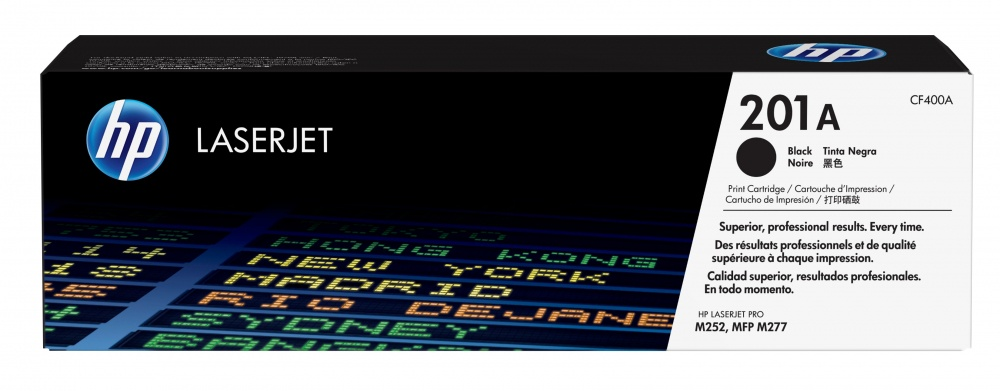 Tóner HP 201A Negro, 1400 Páginas ― ¡Compra y recibe $70 pesos de saldo para tu siguiente pedido!