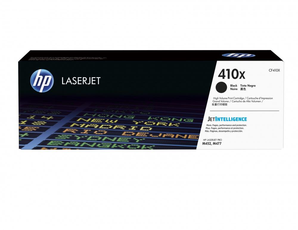 Tóner HP 410X Negro, 6500 Páginas