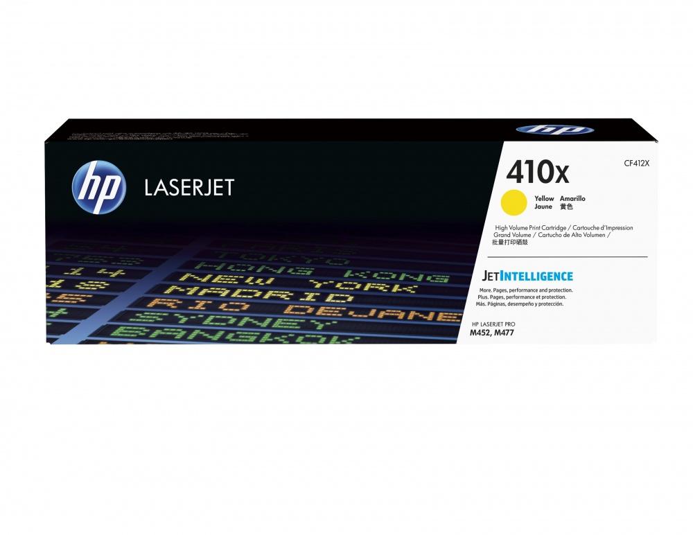 Tóner HP 410X Amarillo, 5000 Páginas ― ¡Compra y recibe $190 pesos de saldo para tu siguiente pedido!