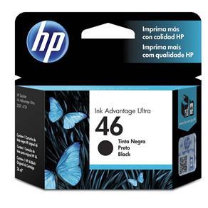 Cartucho HP 46 Negro Original, 1500 Páginas