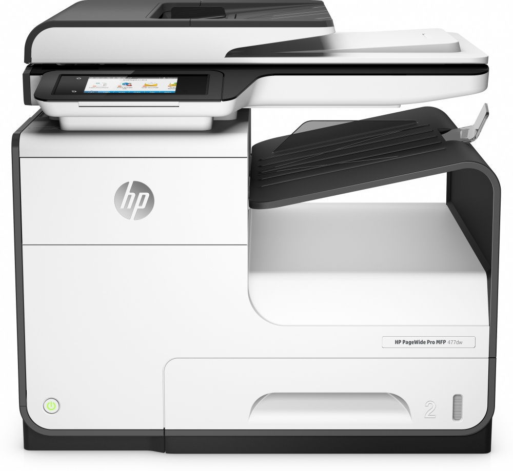 Multifuncional HP PageWide Pro 477dw, Color, Inyección, Inalámbrico, Print/Scan/Copy/Fax