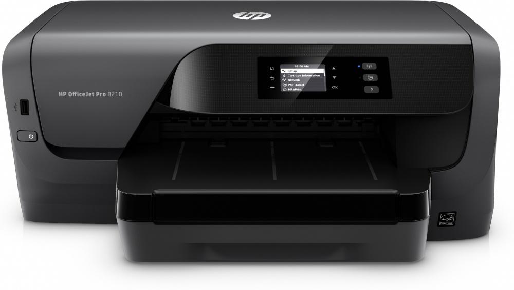 HP OfficeJet Pro 8210, Color, Inyección, Inalámbrico, Print