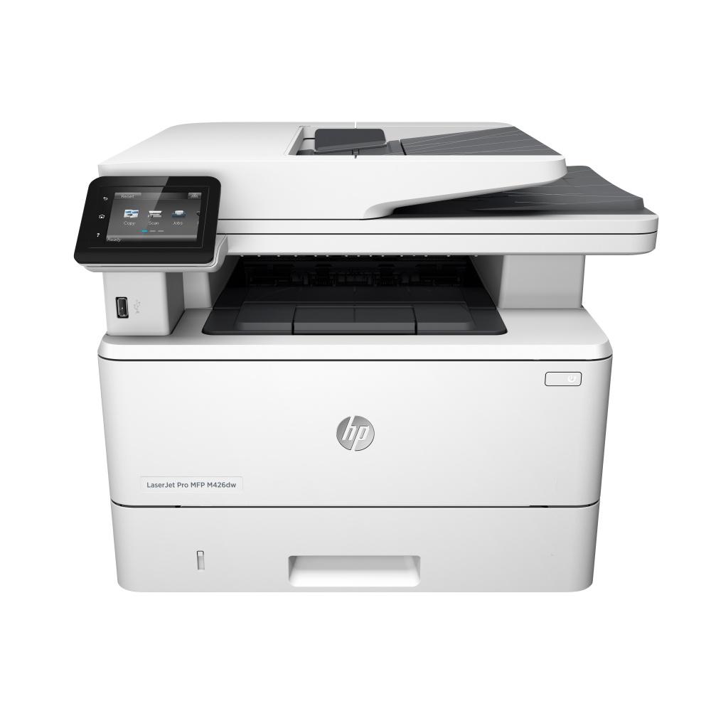 Multifuncional HP LaserJet Pro MFP M426dw, Blanco y Negro, Láser, Inalámbrico, Print/Scan/Copy