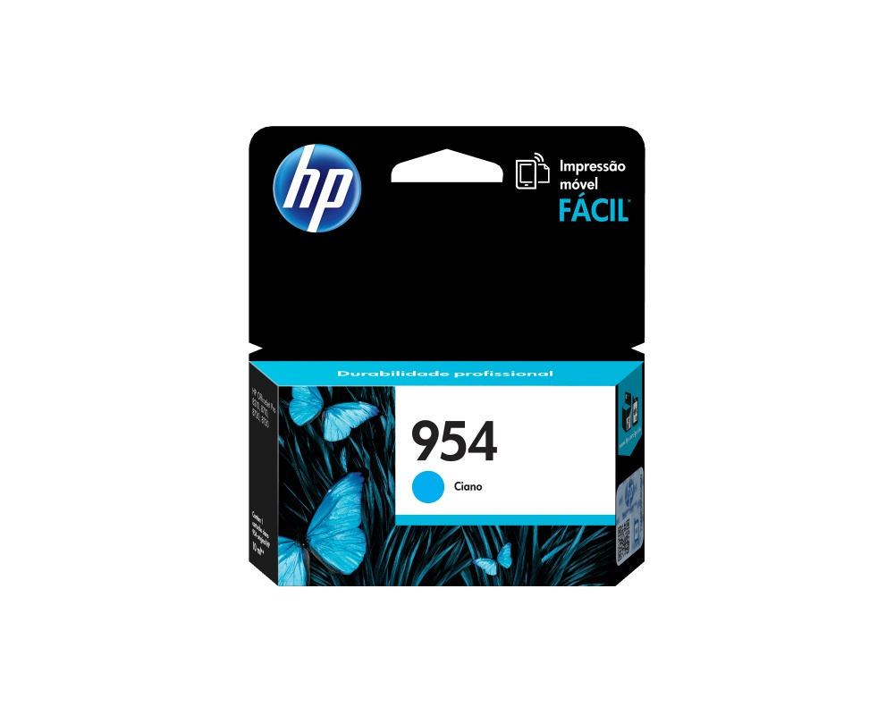 Cartucho HP 954 Cyan, 700 Páginas
