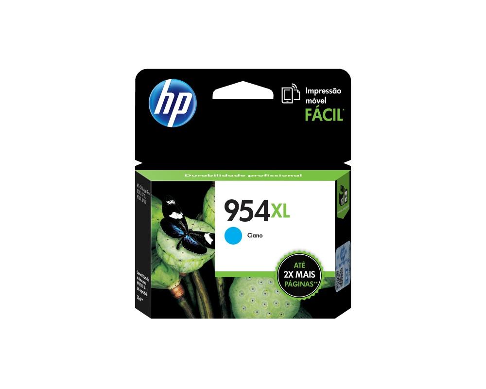 Cartucho HP 954XL Cyan, 1600 Páginas ― ¡Compra y recibe 5% del valor de este producto en saldo para tu siguiente pedido!