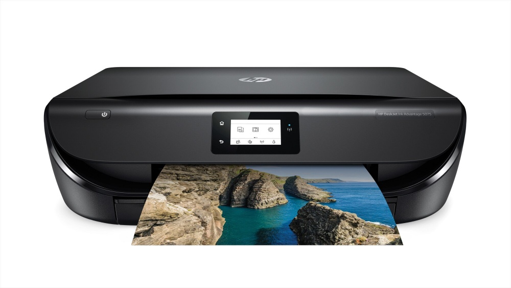 Multifuncional HP DeskJet Ink Advantage 5075, Color, Inyección, Inalámbrico, Print/Scan/Copy