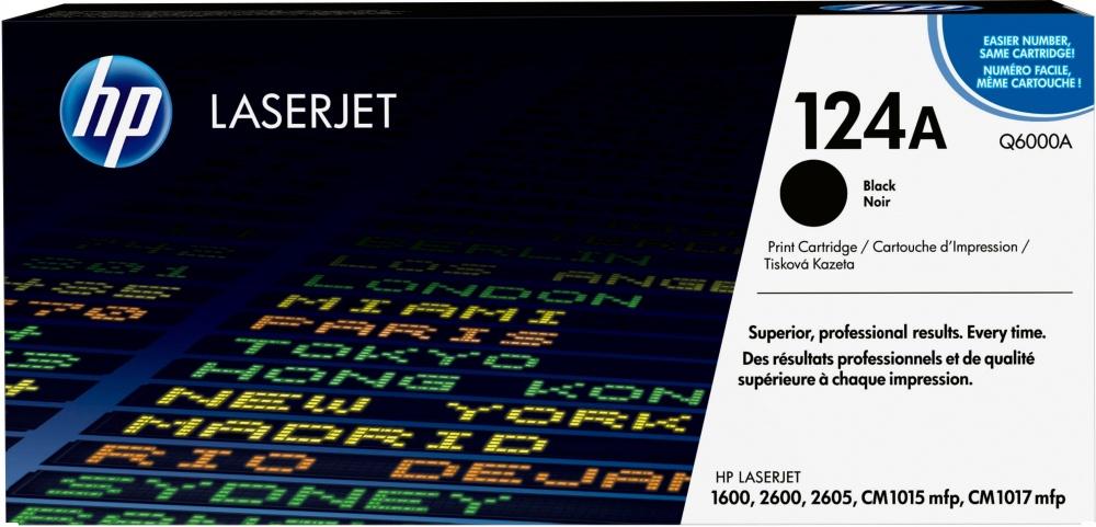 Tóner HP 124A Negro, 2500 Páginas ― ¡Compra y recibe 5% del valor de este producto en saldo para tu siguiente pedido!