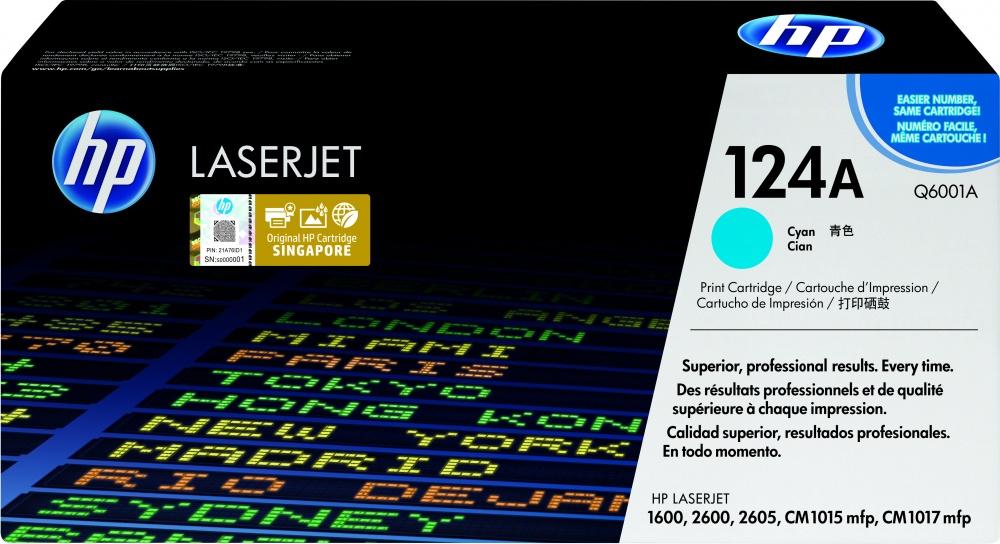 Tóner HP 124A Cyan, 2000 Páginas ― ¡Compra y recibe 5% del valor de este producto en saldo para tu siguiente pedido!