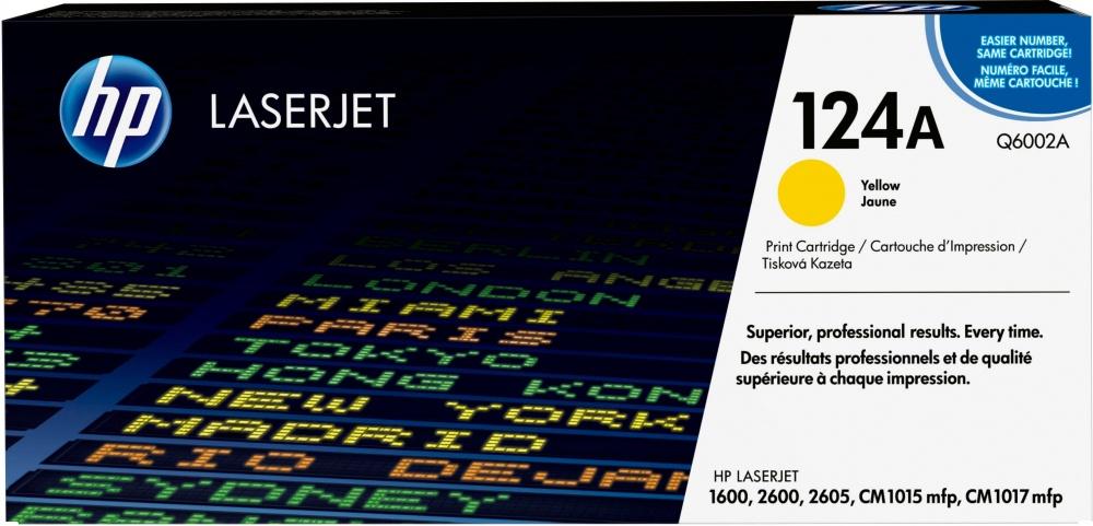 Tóner HP 124A Amarillo, 2000 Páginas ― ¡Compra y recibe 5% del valor de este producto en saldo para tu siguiente pedido!