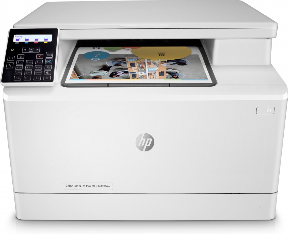 Multifuncional HP Color LaserJet Pro M180nw, Color, Láser, Inalámbrico, Print/Scan/Copy