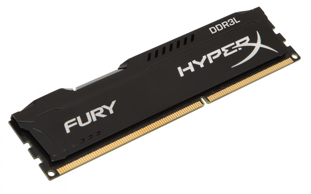 Memoria HyperX FURY Black LoVo DDR3L, 1600MHz, 8GB, Non-ECC, CL10
