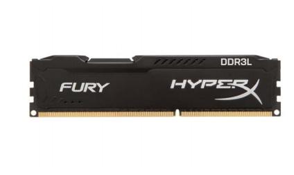Memoria RAM HyperX FURY Black LoVo DDR3L, 1866MHz, 4GB, Non-ECC, CL11