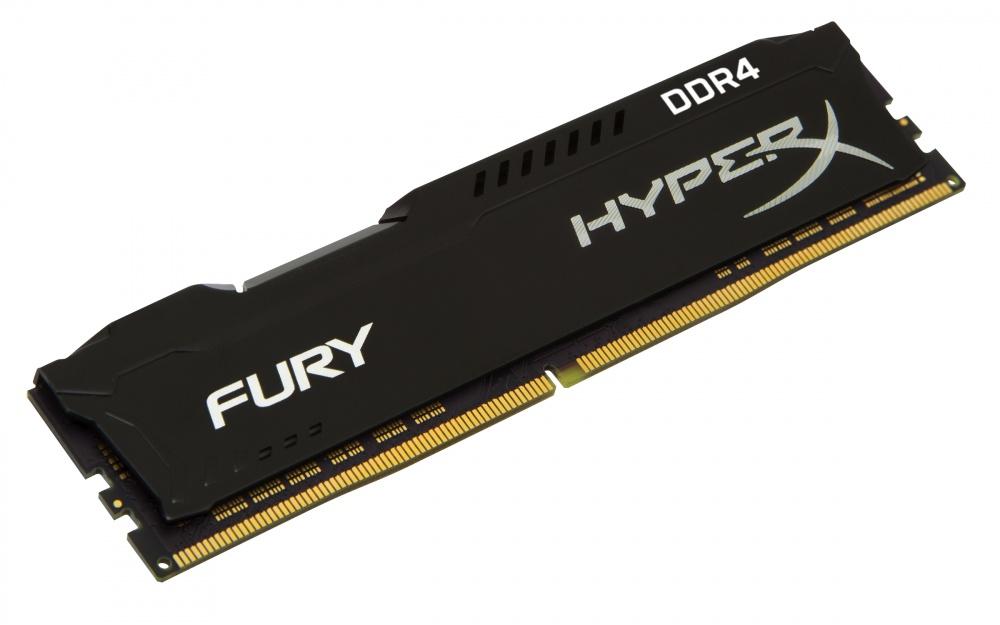 Memoria RAM Kingston HyperX FURY Black DDR4, 2400MHz, 4GB, Non-ECC, CL15