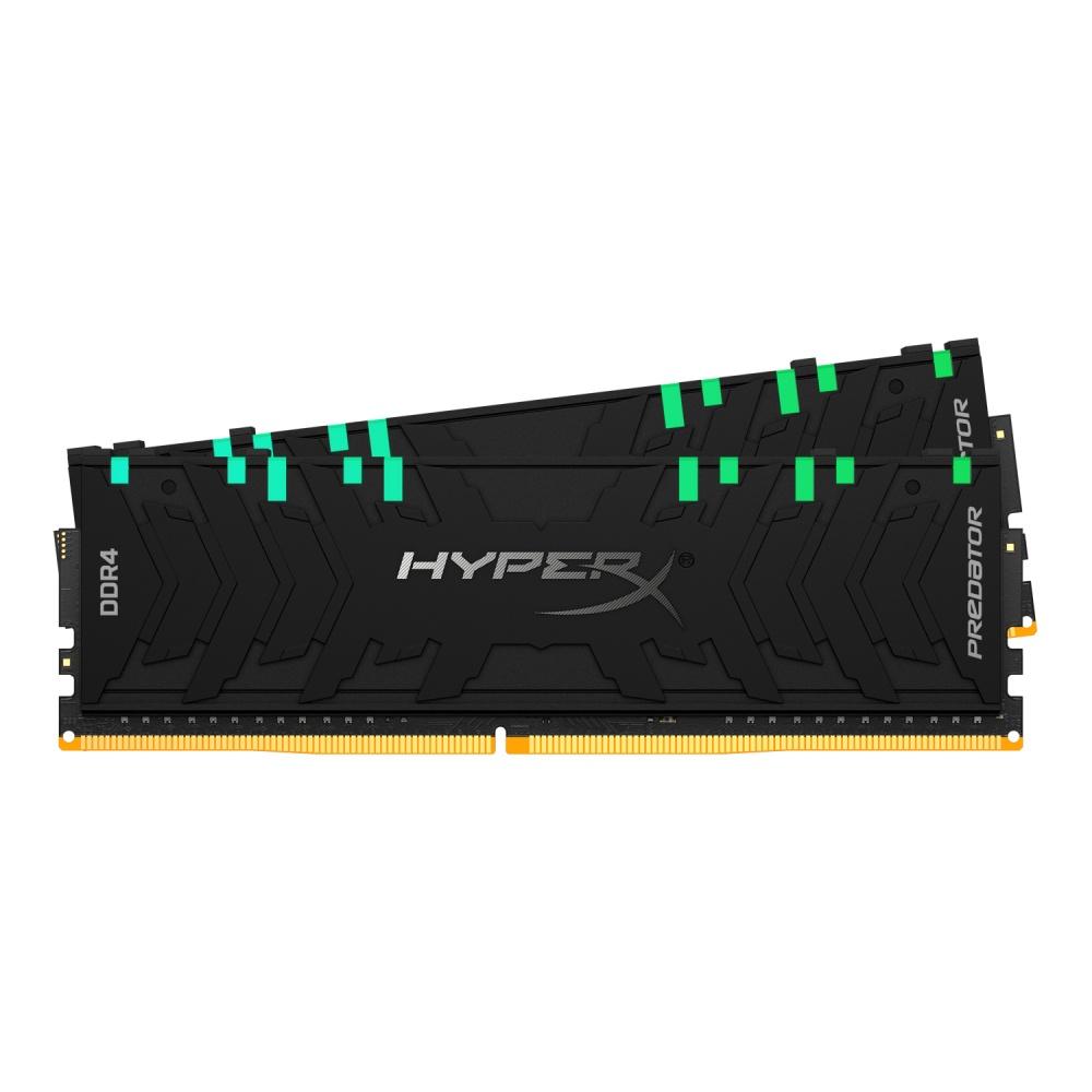 Memoria RAM HyperX Predator RGB DDR4, 3000MHz, 32GB (2 x 16GB), Non-ECC, CL15, XMP