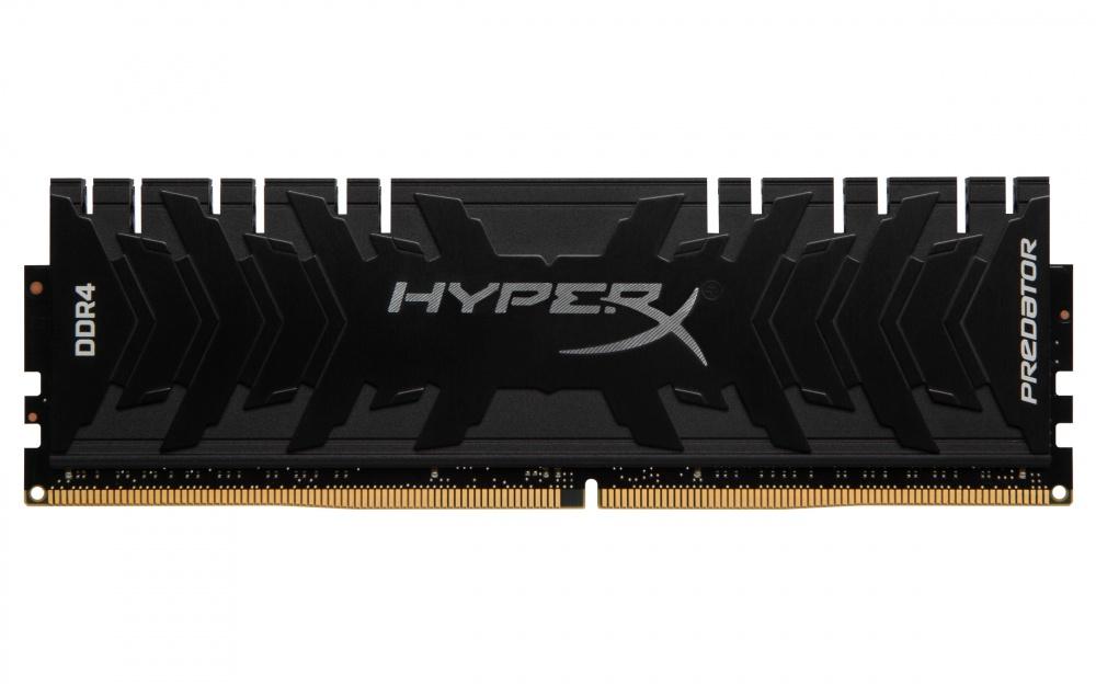 Memoria RAM HyperX Predator Black DDR4, 3333MHz, 16GB, Non-ECC, CL16, XMP