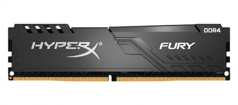 Memoria RAM HyperX Fury DDR4, 3600MHz, 16GB, Non-ECC, CL18, XMP