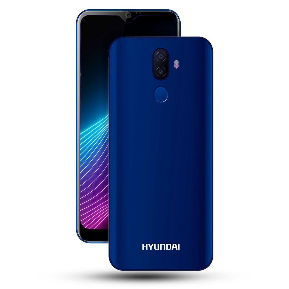 "Smartphone Hyundai Eternity G60 6"", 1560 x 720 Pixeles, 32GB, 3GB RAM, 4G, Android 9.0, Azul"