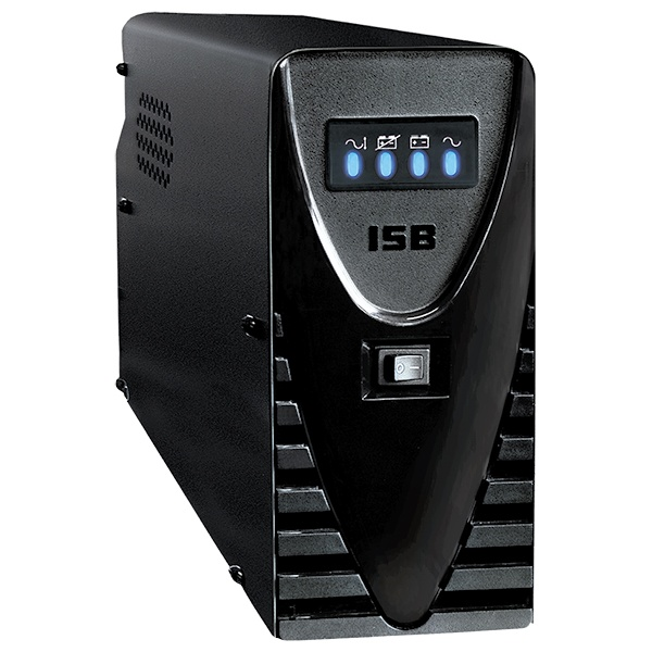 No Break Industrias Sola Basic NBKS-1000, 700W, 1000VA, Entrada 95-140V, Salida 127V, 8 Contactos