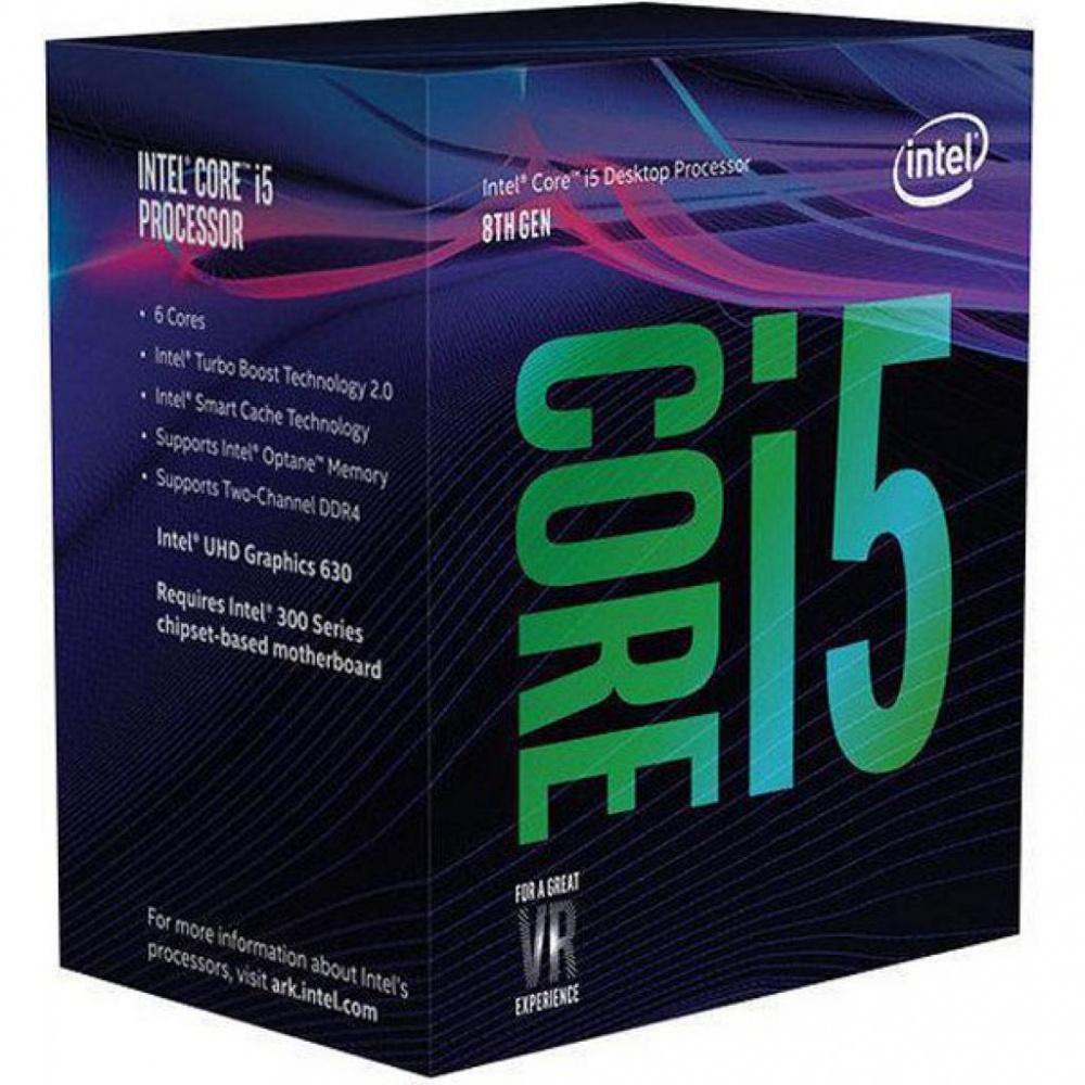 Procesador Intel Core i5-8600K, S-1151, 3.60GHz, Six-Core, 9MB Smart Cache (8va. Generación - Coffee Lake) ― Compatible solo con tarjetas madre serie 300