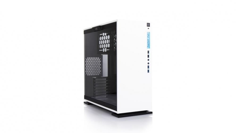 Gabinete In Win 303 con Ventana, Mini-Tower, ATX/Micro-ATX/Mini-ATX, USB 2.0/3.0, sin Fuente, Blanco