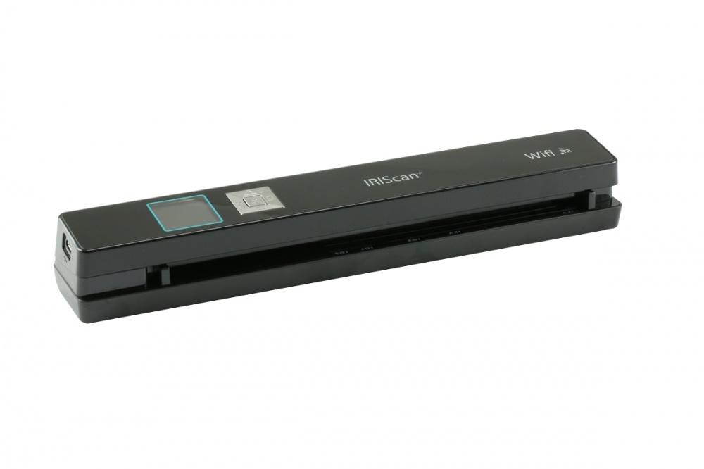 Scanner I.R.I.S. IRIScan Anywhere 5 Wi-Fi, 1200 x 1200 DPI, Escáner Color, USB 2.0, Negro