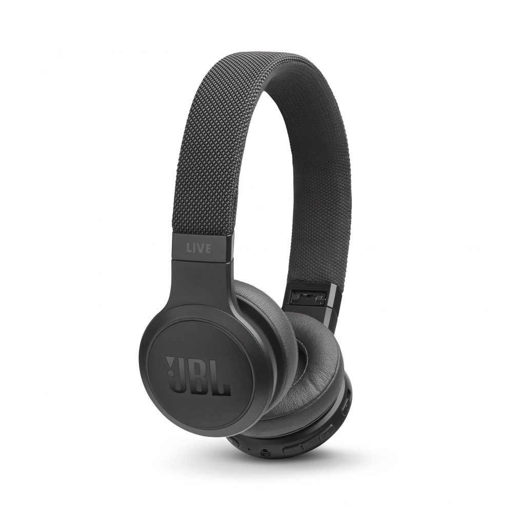 JBL Audífonos con Micrófono LIVE 400BT, Bluetooth, Alámbrico/Inalámbrico, Negro