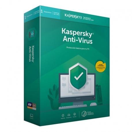 Kaspersky Anti-Virus, 1 Usuario, 2 Años, Windows/Mac ― Producto Digital Descargable