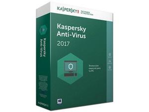Kaspersky Lab Anti-Virus 2017, 10 Usuarios, 1 Año, Windows