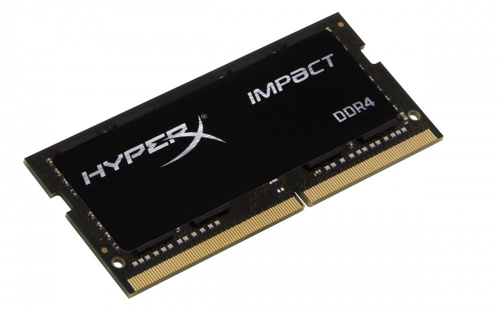 Memoria RAM Kingston HyperX Impact Black DDR4, 2400MHz, 8GB, CL14, SO-DIMM