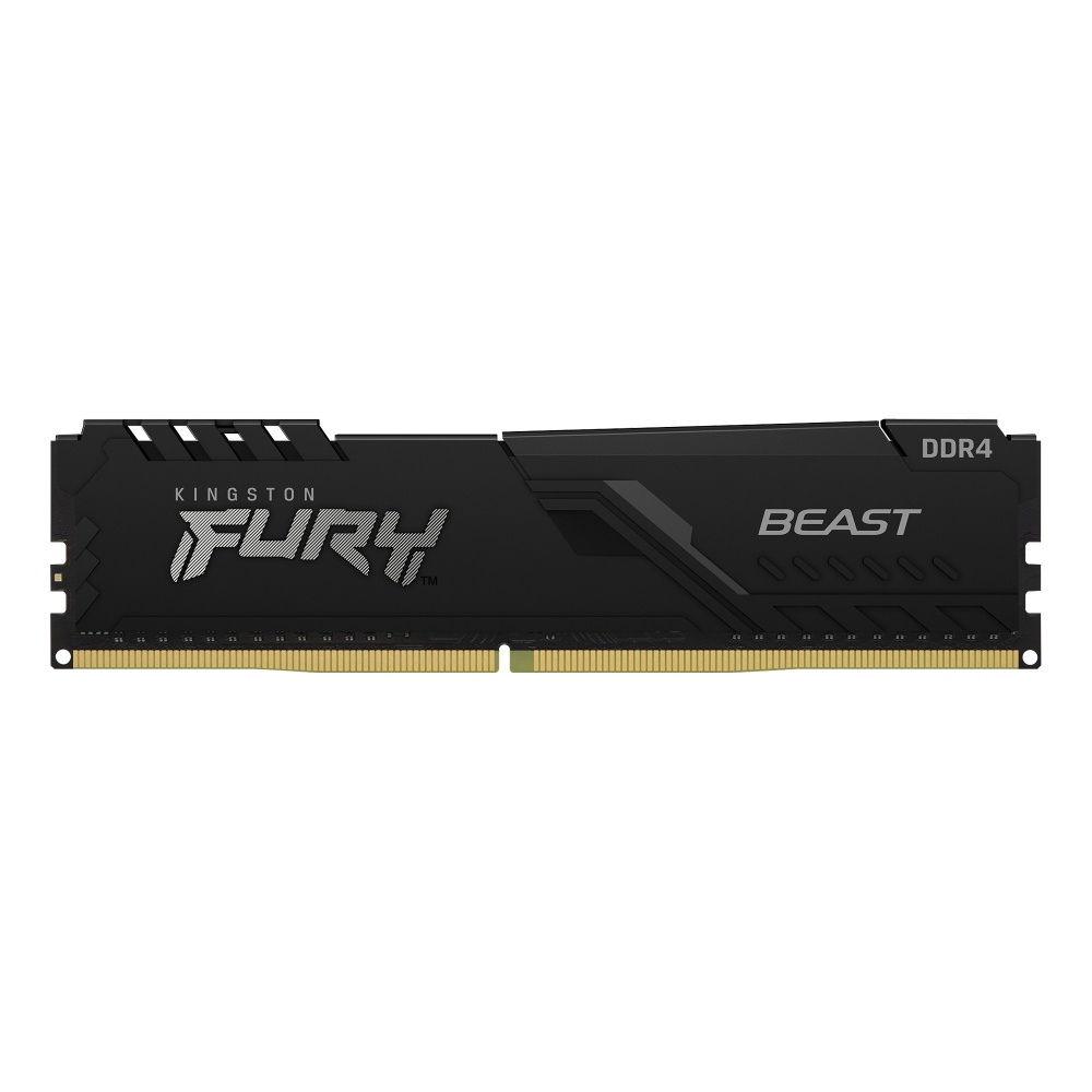Memoria RAM Kingston FURY Beast Black DDR4, 3200MHz, 32GB, Non-ECC, CL16, XMP