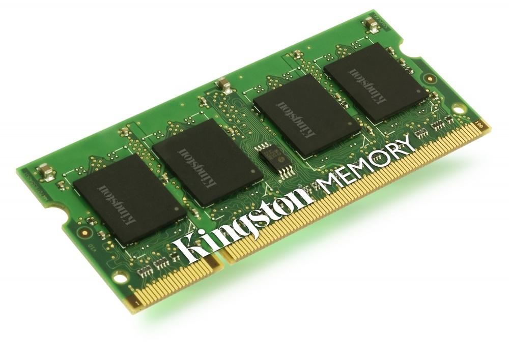 Memoria RAM Kingston DDR3, 667MHz, 1GB, CL5, SO-DIMM, para Fujitsu