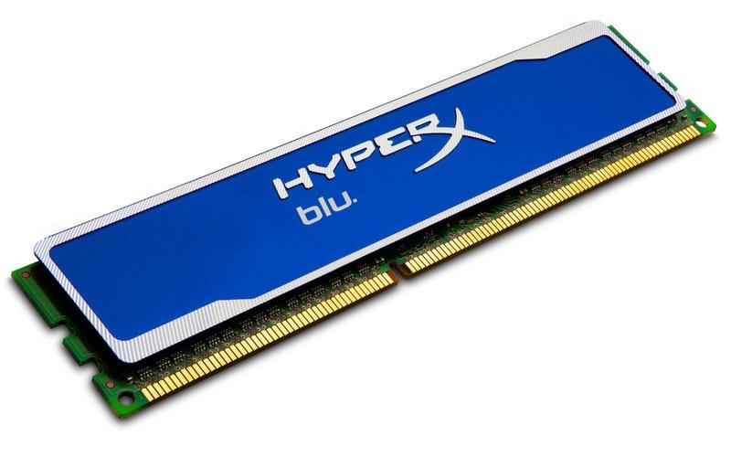 Memoria RAM HyperX Blu DDR3, 1600MHz, 8GB, CL10, Non-ECC