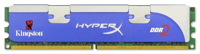 Memoria RAM HyperX DDR2, 1066MHz, 2GB, CL5, Non-ECC