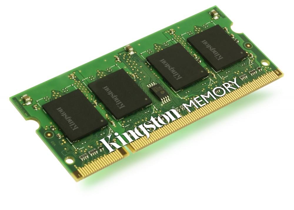Memoria RAM Kingston DDR2, 800MHz, 1GB, CL6, Non-ECC, SO-DIMM, para Dell Latitude D630 / D630c