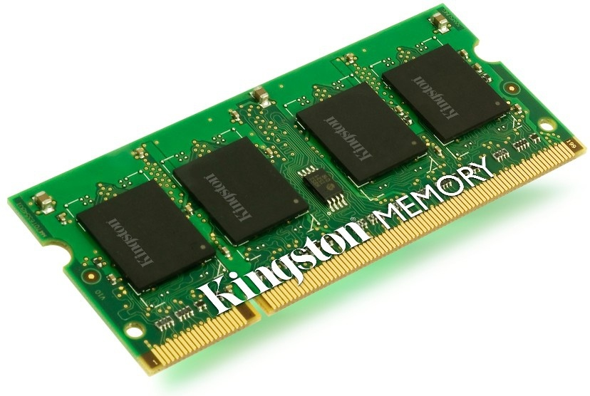Memoria RAM Kingston DDR3, 1333MHz, 2GB, CL9, Non-ECC, SO-DIMM, Single Rank x8, para HP