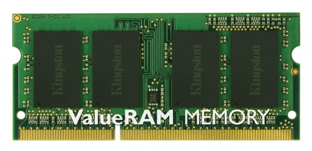 Memoria RAM Kingston DDR3, 2GB, 1333MHz, CL9, SO-DIMM