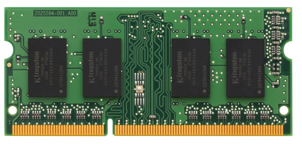 Memoria RAM Kingston DDR3, 1333MHz, 4GB, CL9, Non-ECC, x8, SO-DIMM