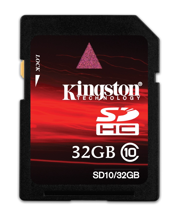 Memoria Flash Kingston SD10, 32GB SDHC Clase 10